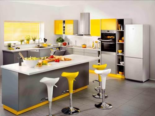 Contoh Desain Dapur Minimalis Tema Sitrus Yang Modern Perusahaan
