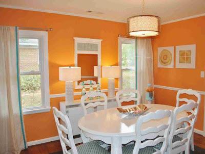 cat ruang keluarga rumah minimalis