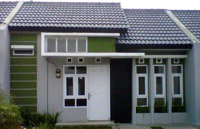 contoh gambar jendela depan rumah minimalis