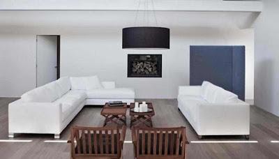contoh ruang tamu rumah sederhana
