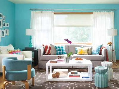 dekorasi ruang keluarga rumah minimalis