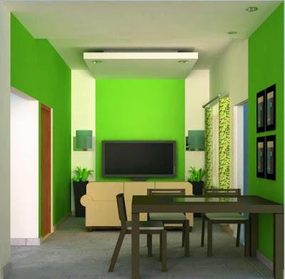 foto ruang keluarga rumah minimalis