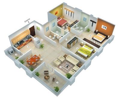 gambar rumah minimalis 3 kamar 2017