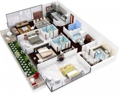 gambar rumah minimalis 3 kamar tidur terbaru