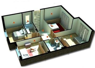 gambar rumah minimalis sederhana 1 lantai 3 kamar
