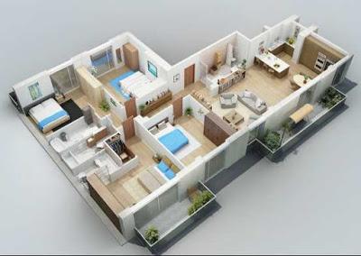 gambar rumah minimalis sederhana 4 kamar tidur
