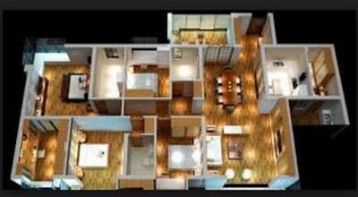 gambar rumah sederhana 4 kamar tidur