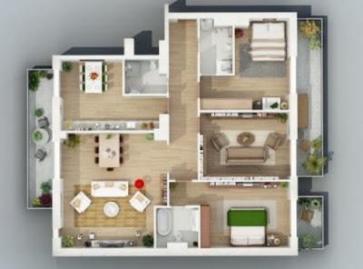 rumah minimalis 2 kamar sederhana