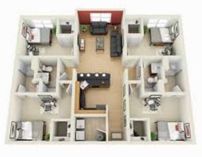 gambar rumah minimalis sederhana 4 kamar