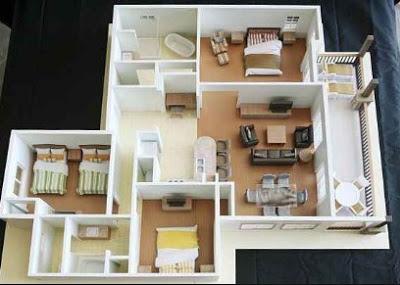 foto rumah sederhana 3 kamar