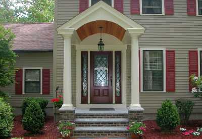 model jendela depan rumah minimalis