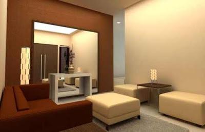 model ruang tamu rumah sederhana