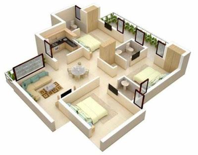 rumah minimalis 3 kamar terbaru