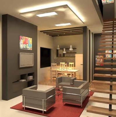 tata ruang keluarga rumah minimalis