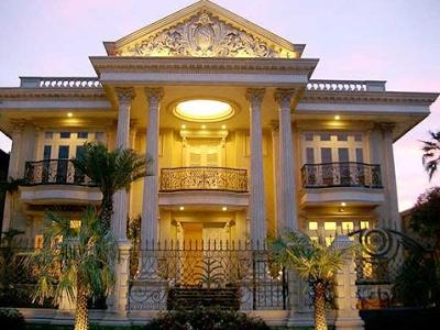 Foto rumah yang mewah