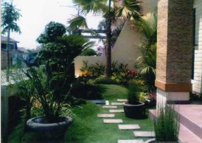 Foto taman rumah idaman