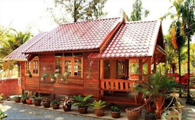 bentuk Rumah Minimalis Sederhana dari Kayu