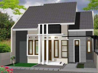 bentuk gambar rumah minimalis type 36 72