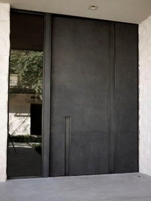 bentuk pintu rumah minimalis 1 lantai modern