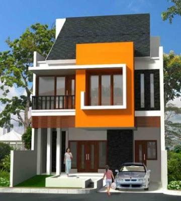 bentuk rumah minimalis type 36 60 2 lantai