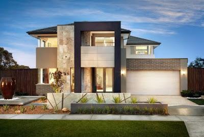 bentuk rumah minimalis type 36 72 2 lantai