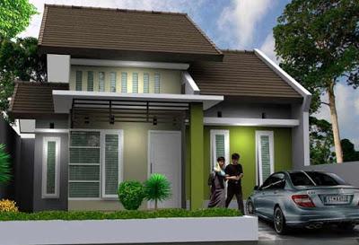 cantoh gambar rumah minimalis type 36 72