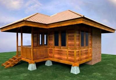 contoh Rumah Minimalis Sederhana dari Kayu