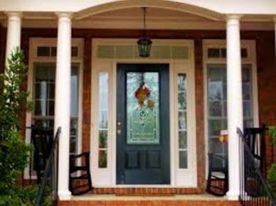 foto daun pintu rumah minimalis