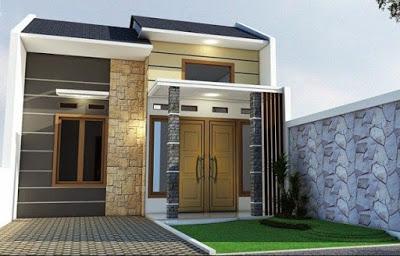 contoh rumah minimalis type 36 72 2 lantai