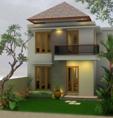 desain Rumah Mewah 2 Lantai modern