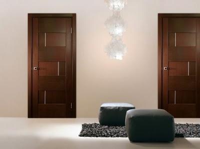 desain elegan pintu rumah minimalis terbaru