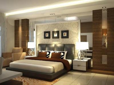 desain kamar tidur interior rumah minimalis type 36