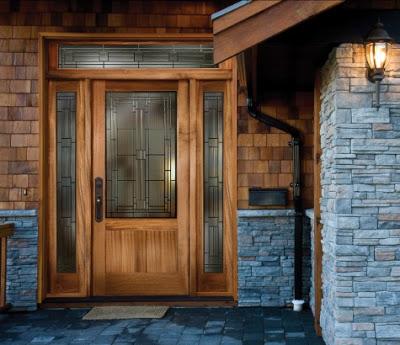 desain pintu rumah minimalis 1 lantai terbaru