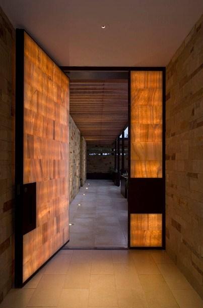 desain pintu rumah minimalis modern mewah