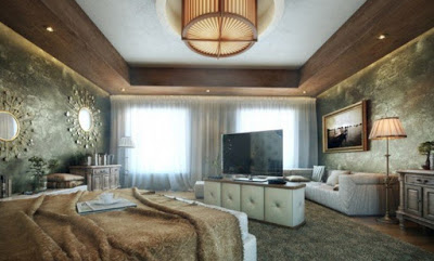desain plafon kamar tidur 2017