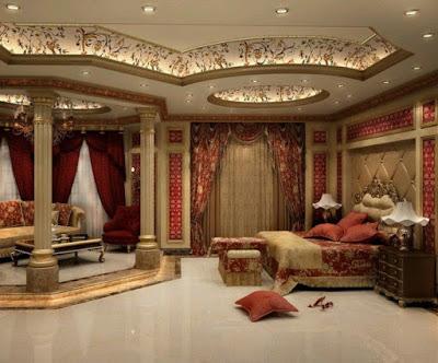 desain plafon kamar tidur terbaru