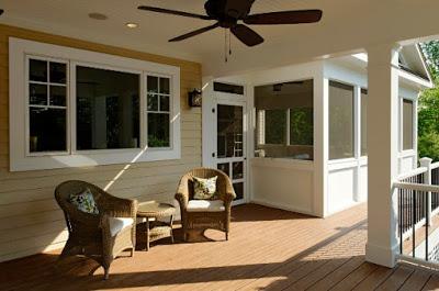desain plafon teras minimalis sederhana