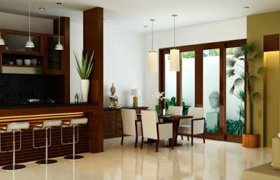 desain ruang makan interior rumah minimalis type 36
