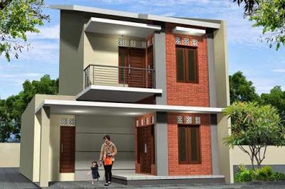 desain rumah minimalis type 36 72 2 lantai