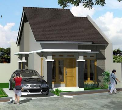desain rumah minimalis type 36 tampak depan