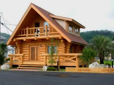foto Rumah Minimalis Sederhana dari Kayu mewah