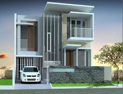 foto desain Rumah Mewah 2 Lantai