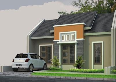 foto desain atap rumah idaman