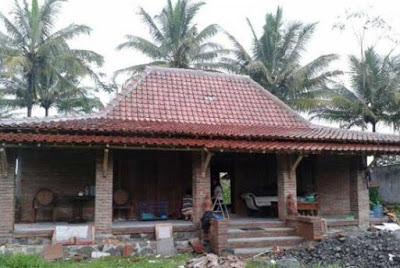 foto desain rumah kampung jawa