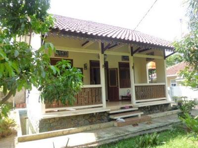 foto etnik Rumah Sederhana di Desa