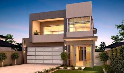 foto rumah minimalis 2 lantai modern