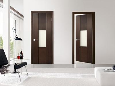 foto pintu kamar tidur rumah minimalis