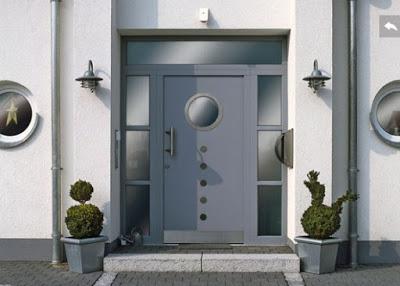 foto pintu rumah minimalis terbaru dari besi