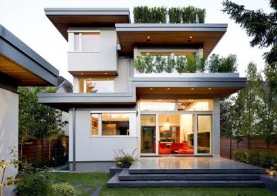 foto rumah minimalis 2 lantai type 120 mewah