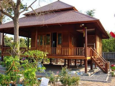 foto rumah minimalis dari kayu